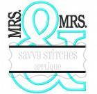 Split And Applique MRS./MRS.